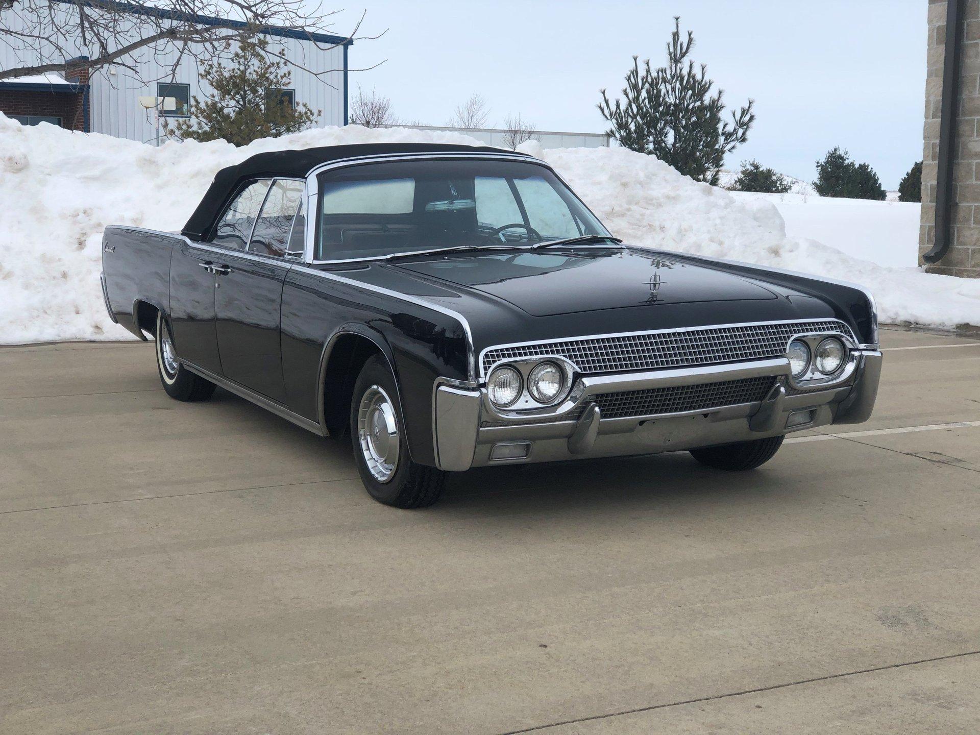 1961 lincoln convertible