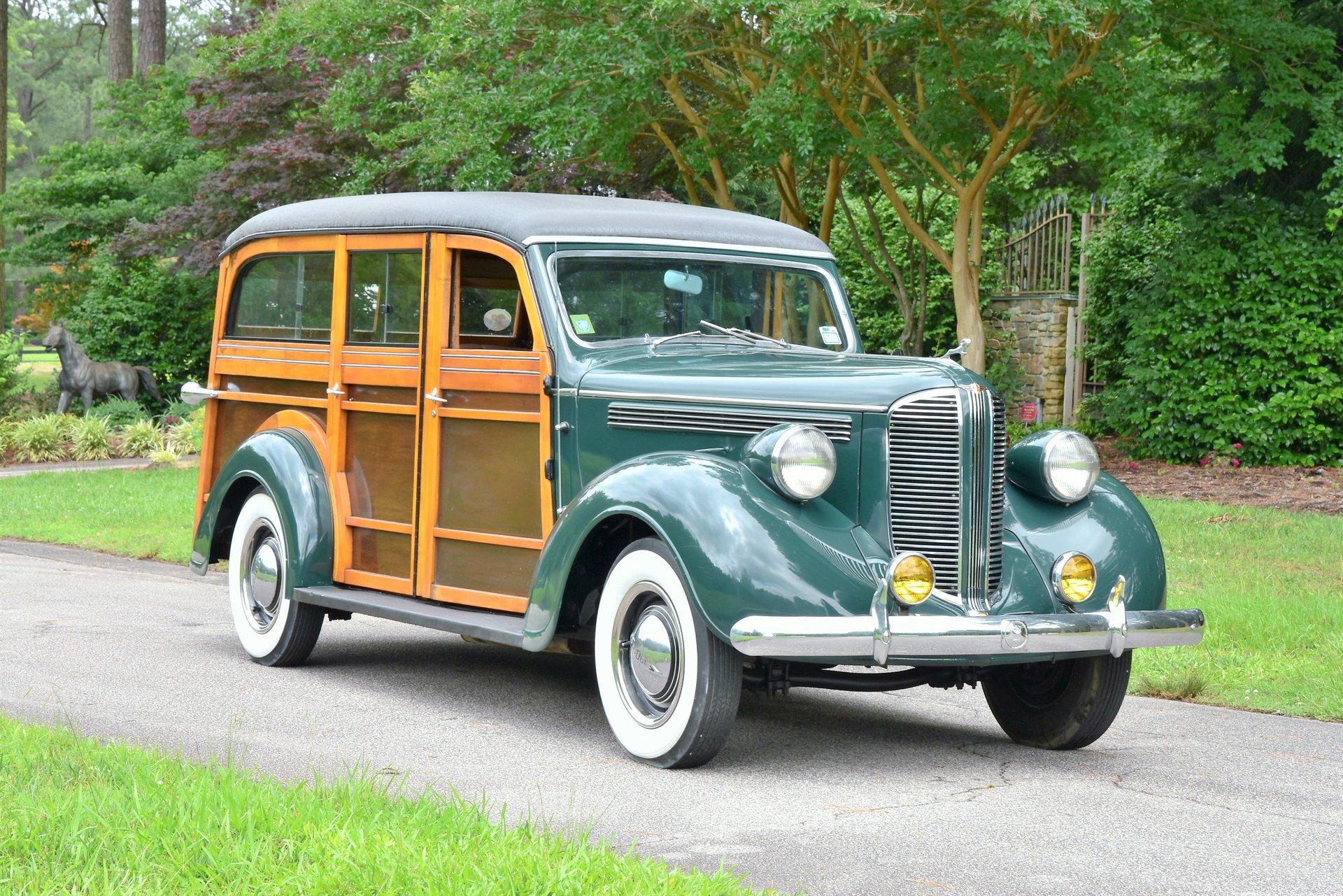 1938 dodge westchester wood body suburban