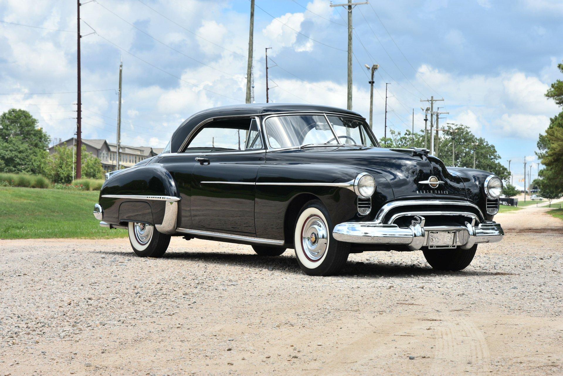 1950 oldsmobile holiday