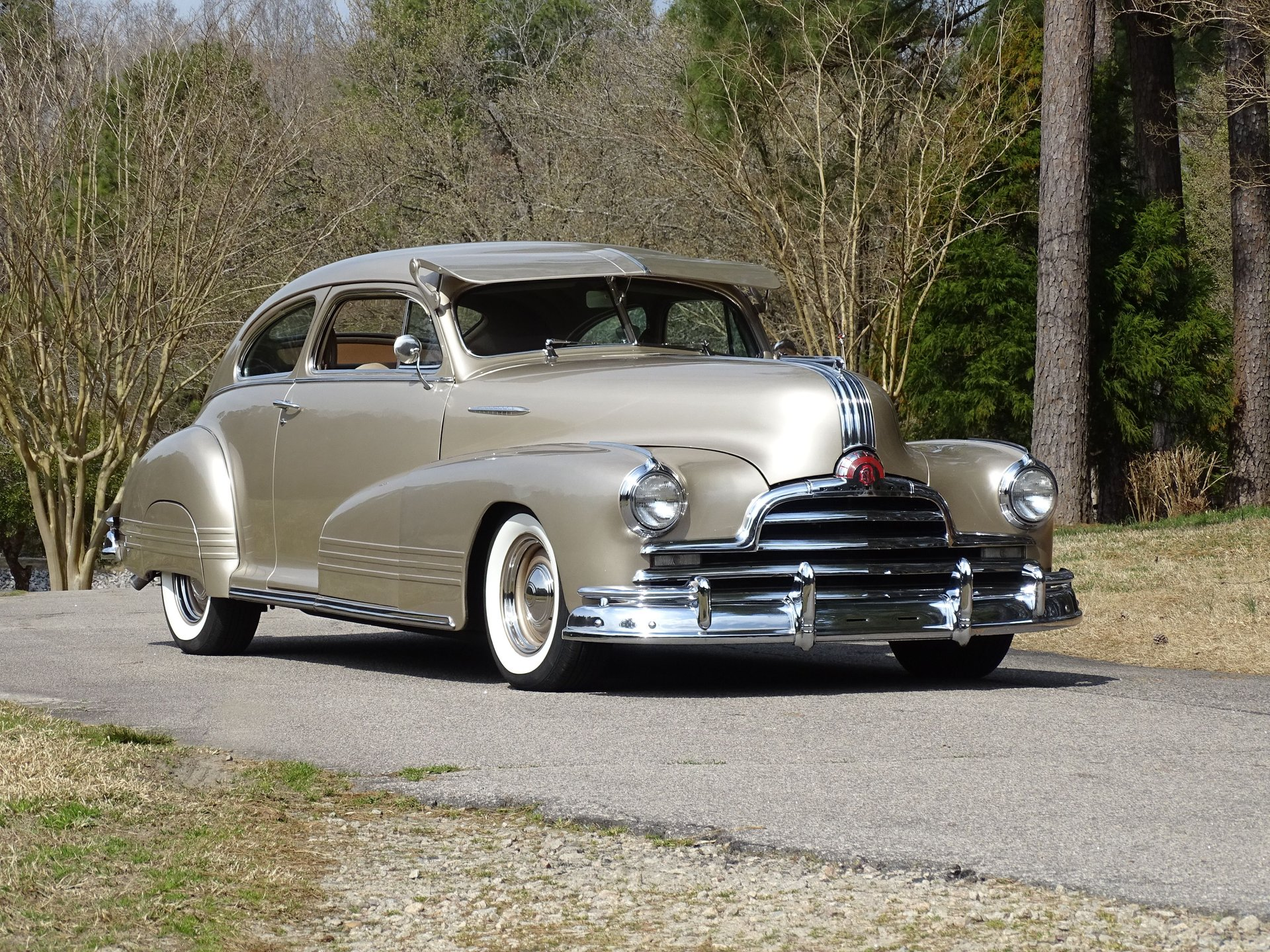 Auction 1947 Pontiac Fastback