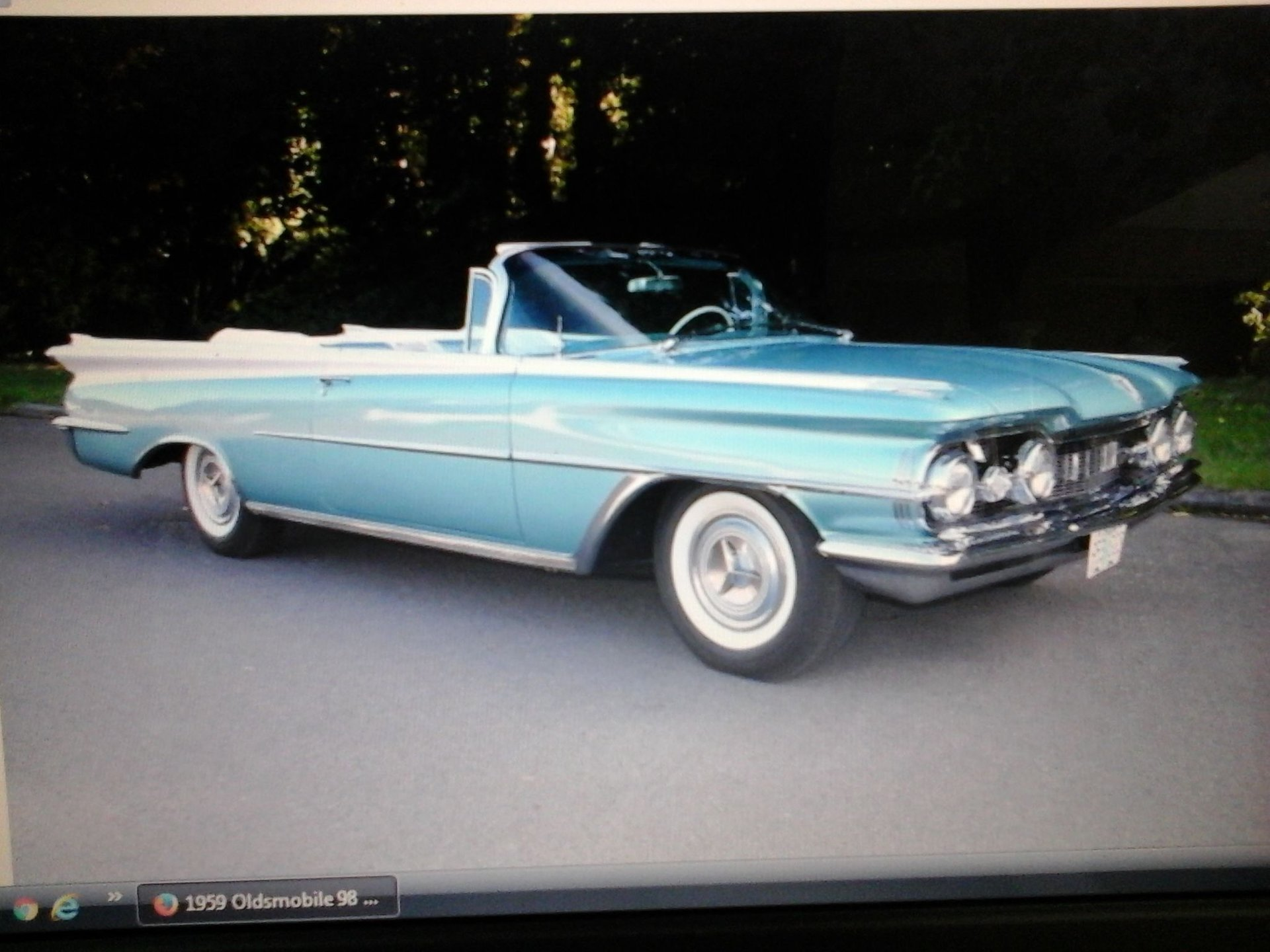 Auction 1959 Oldsmobile 98