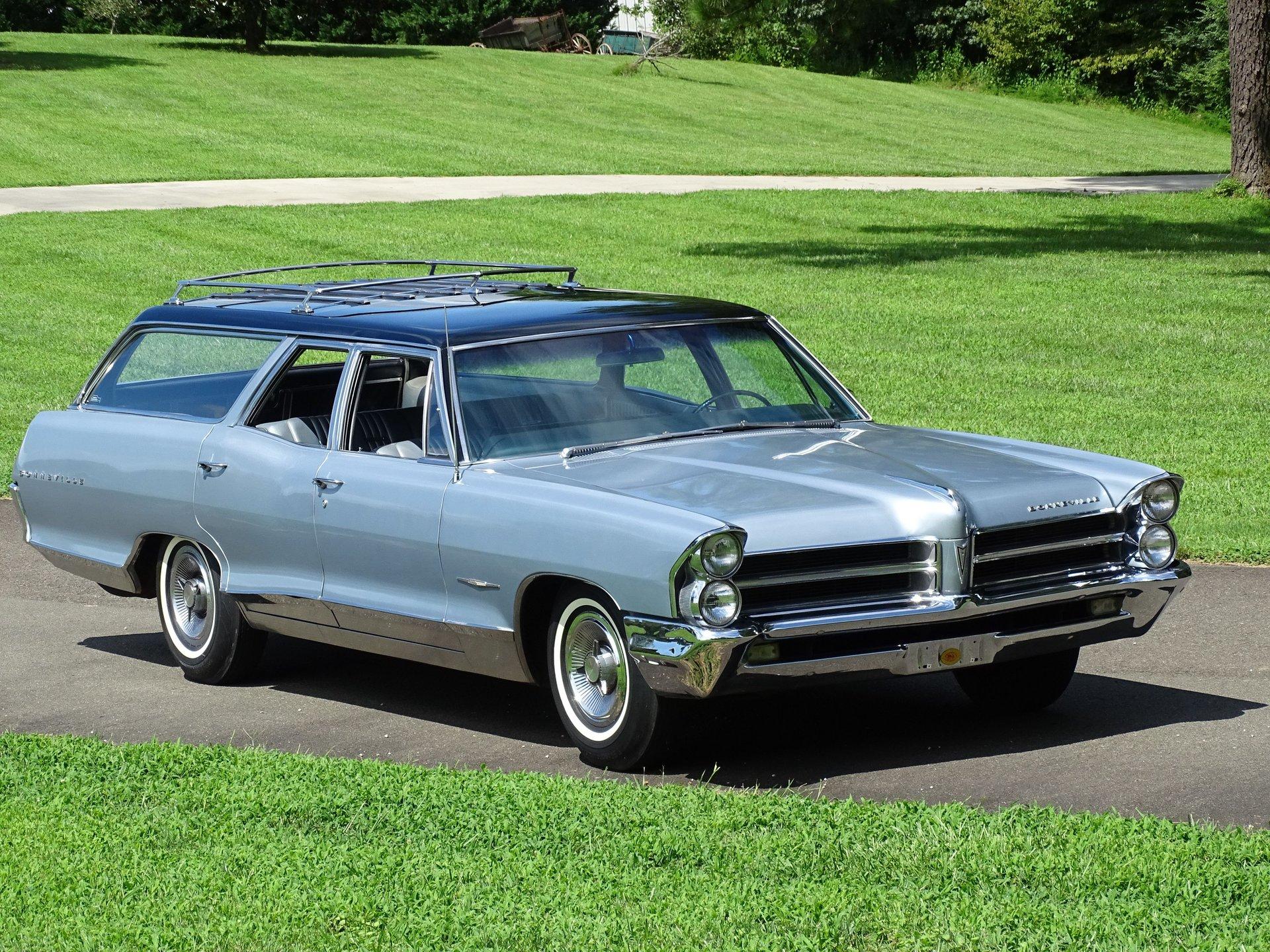 1965 pontiac bonneville wagon