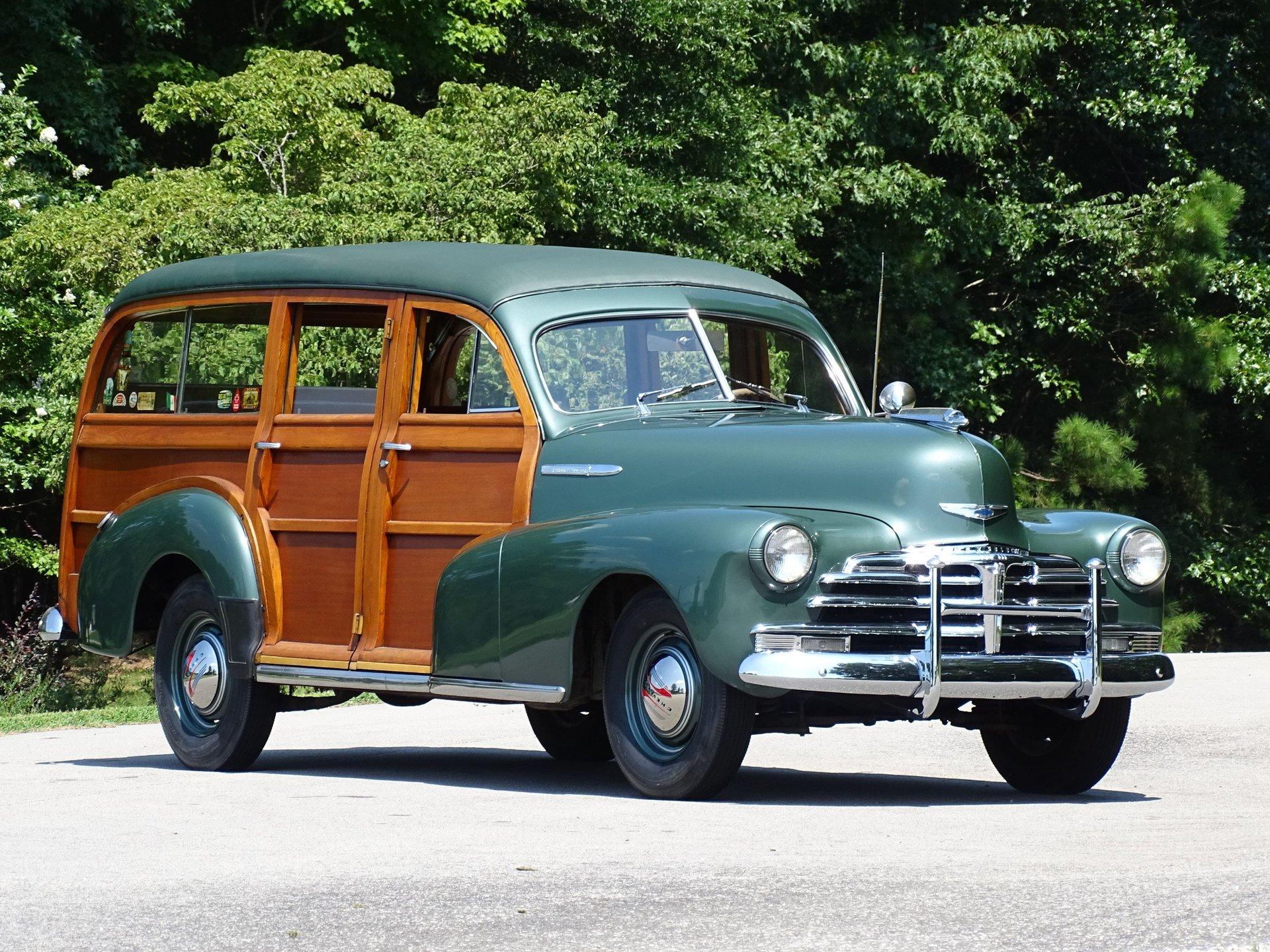 1948 chevrolet fleetmaster woody wagon