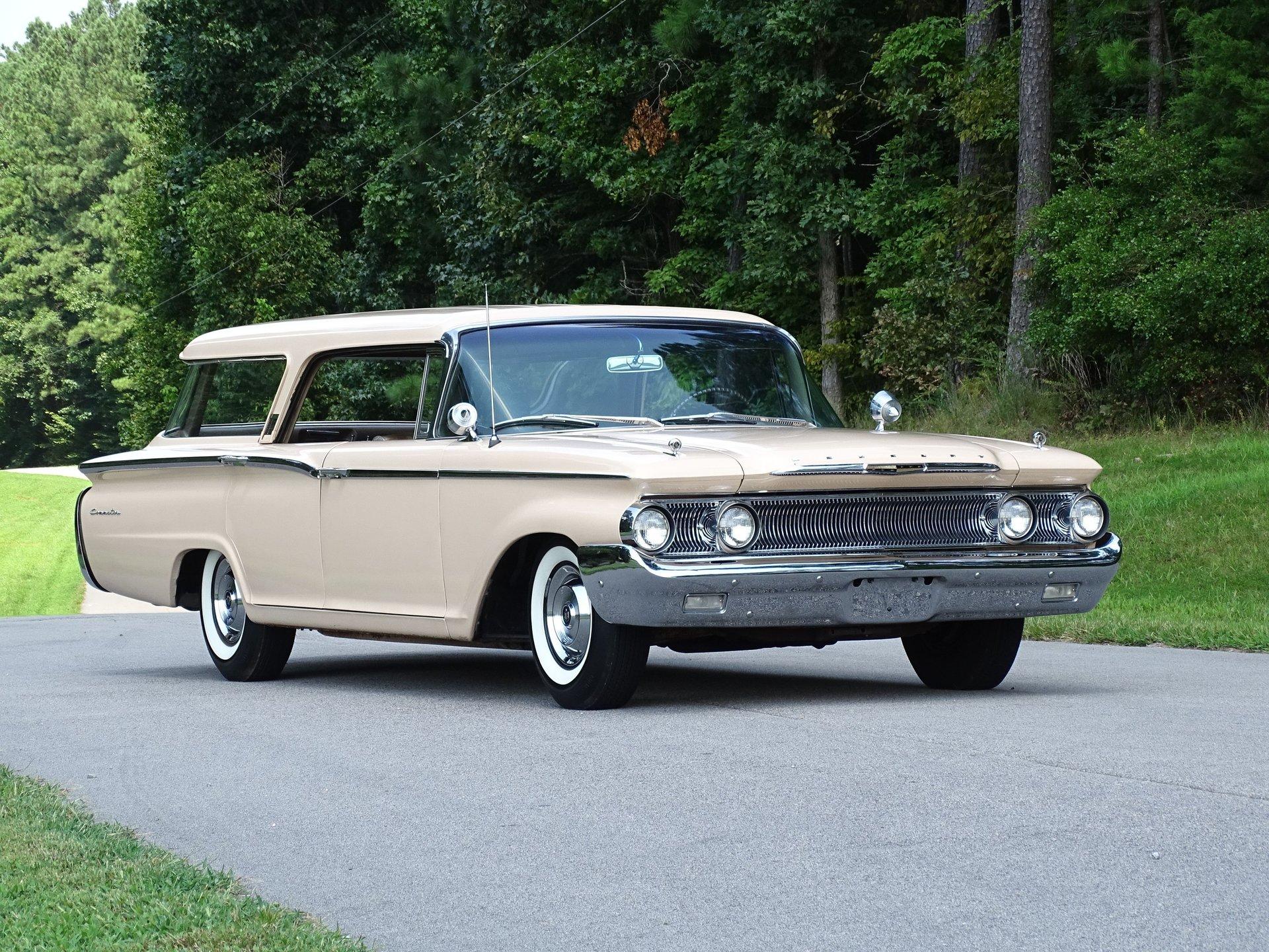1960 mercury commuter wagon