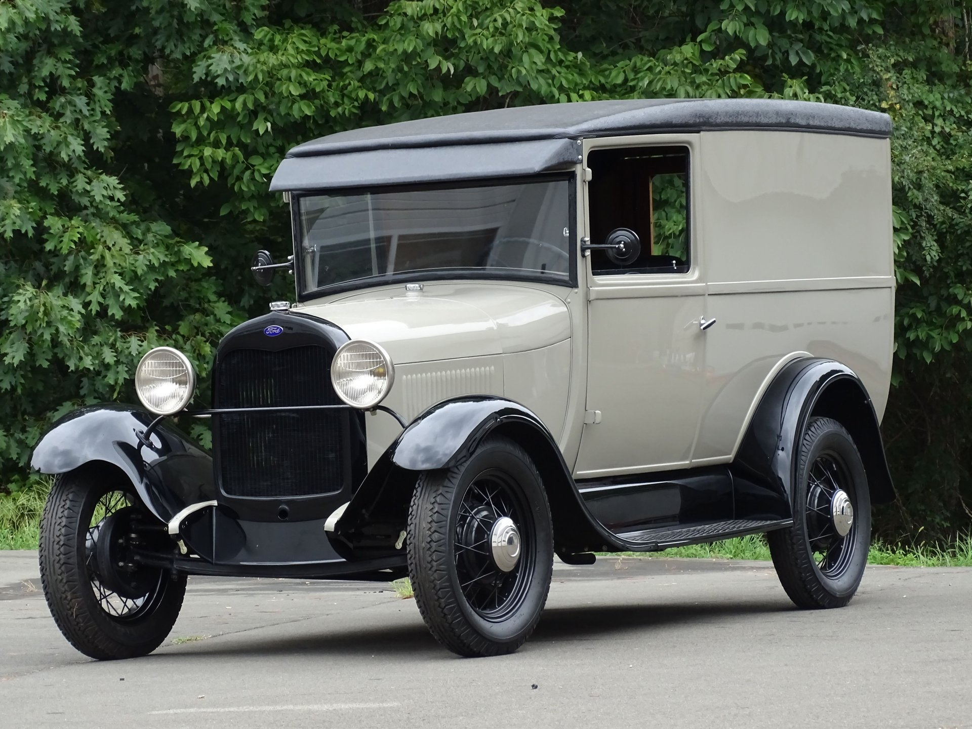 1928 ford panel truck