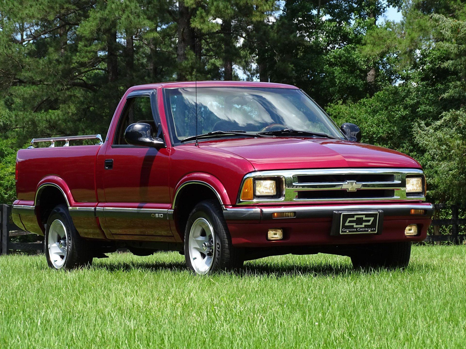1996 chevrolet s 10