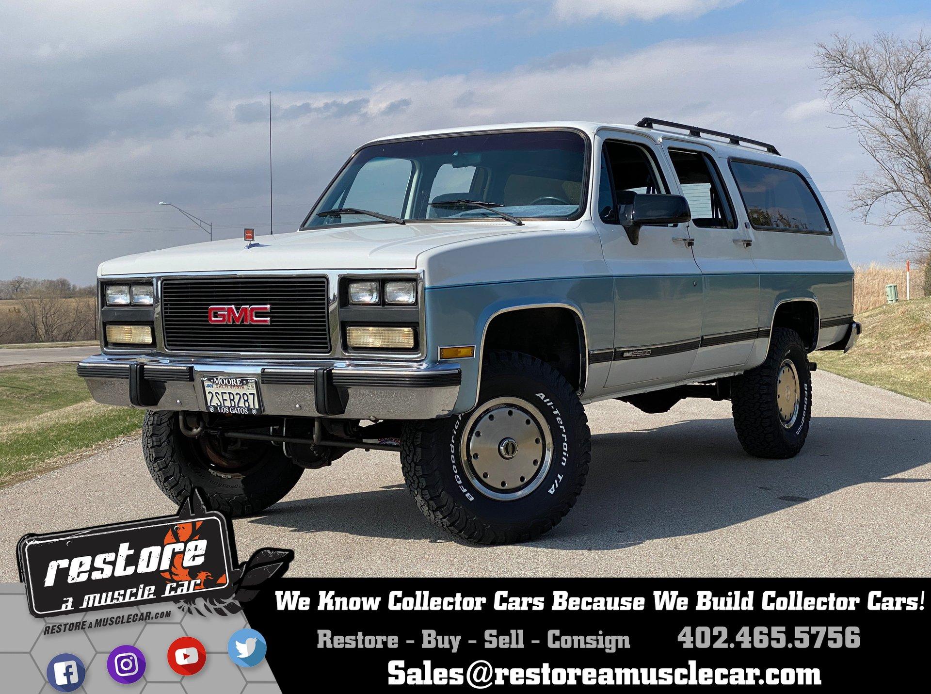 1991 gmc suburban k2500 4x4