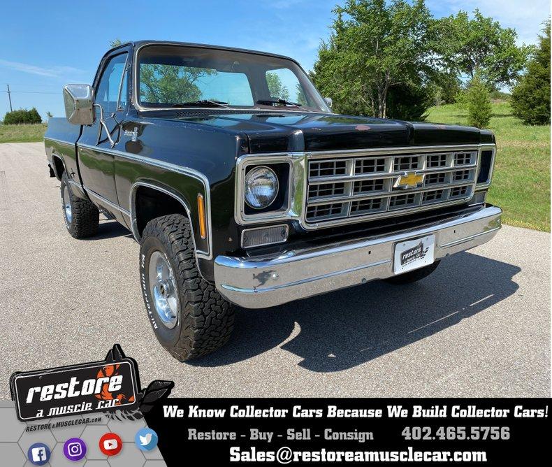 1978 Chevrolet Silverado K10