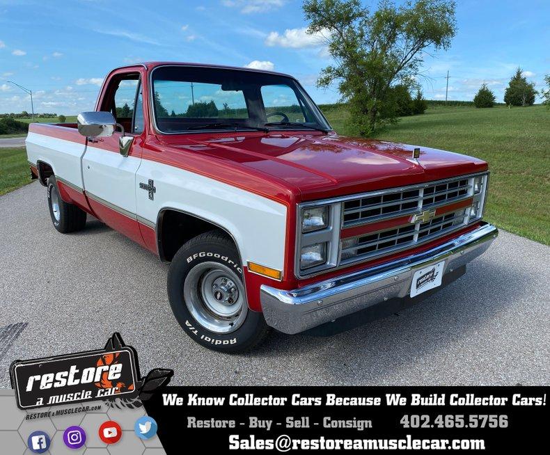1986 Chevrolet Silverado C-10