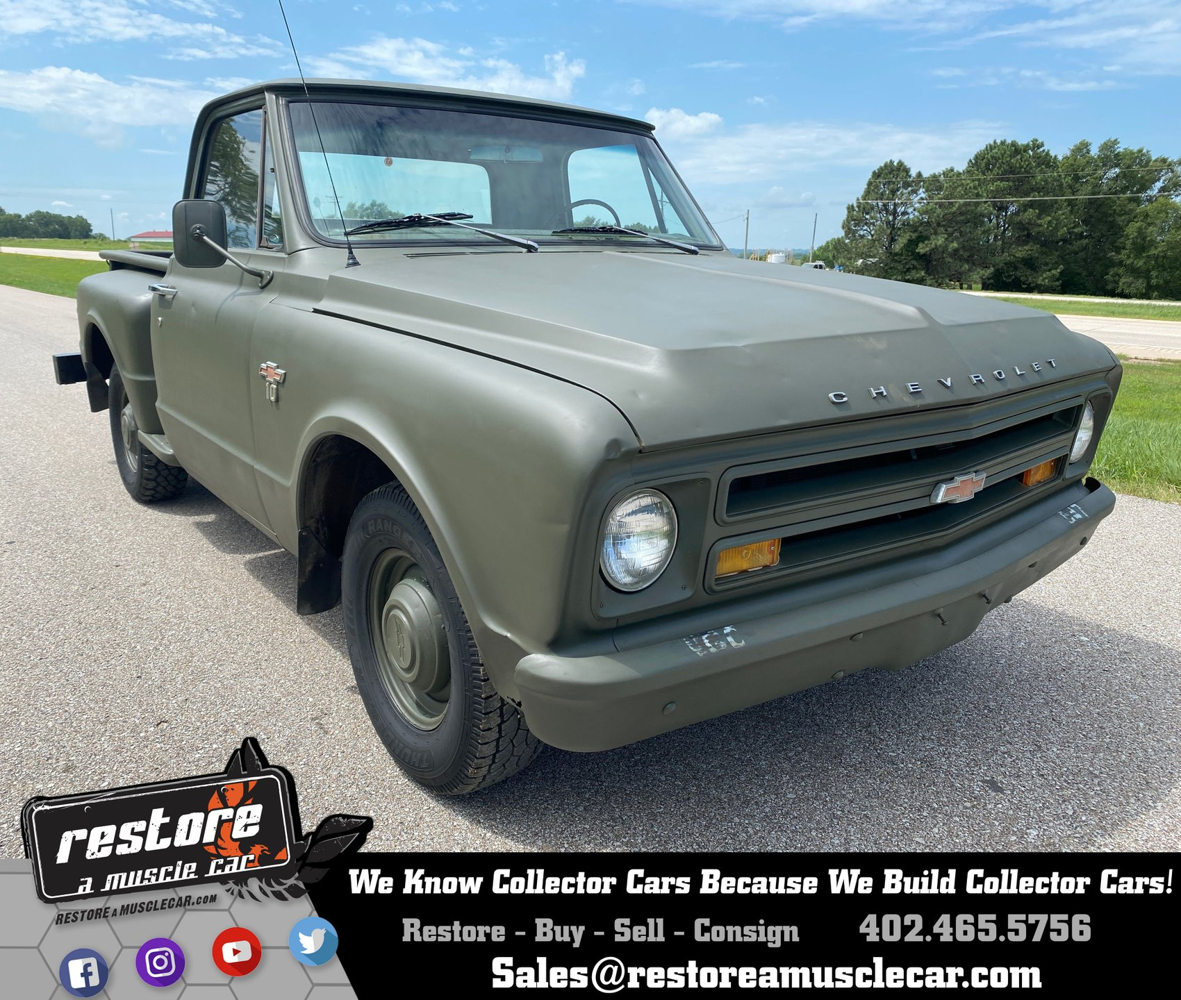 1967 chevrolet c 10 step side