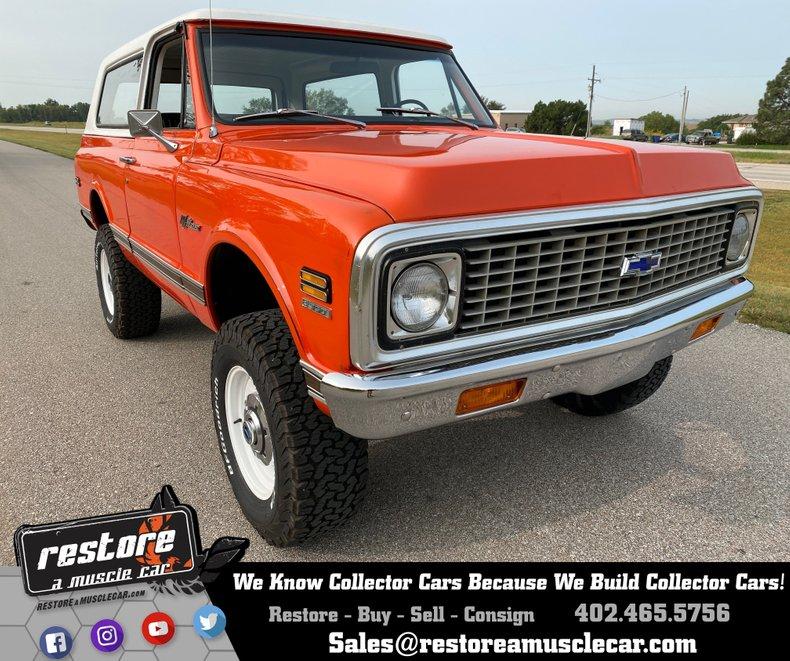 1972 Chevrolet Blazer K5