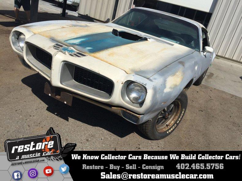 1972 Pontiac Trans AM 455 HO