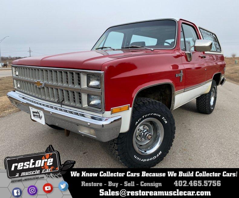 1982 Chevrolet Blazer K5