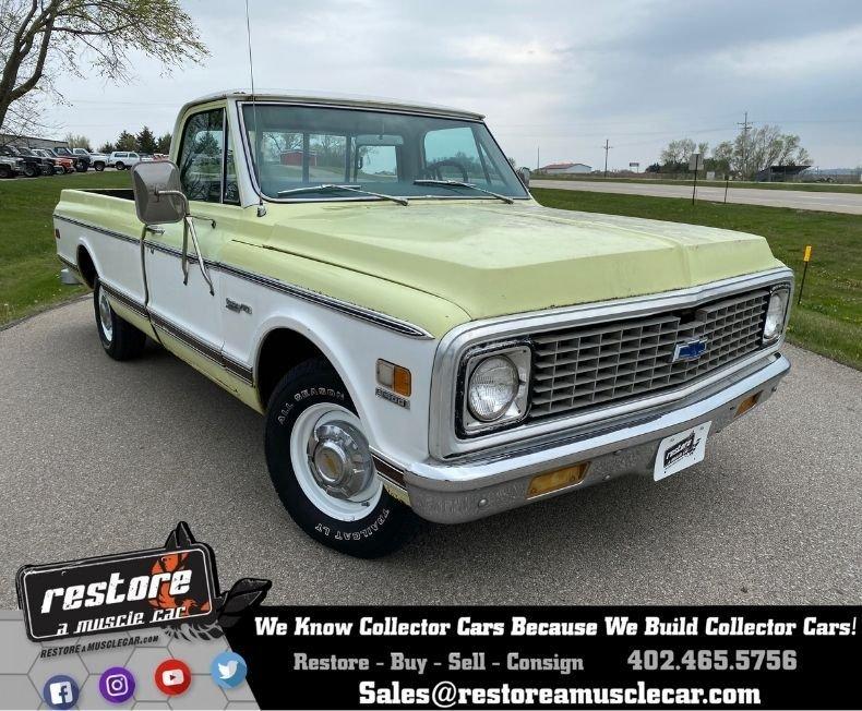 1971 Chevrolet Custom Deluxe C-10