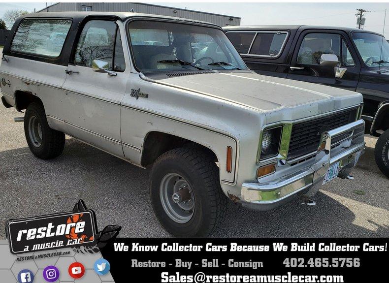 1973 Chevrolet Blazer K5
