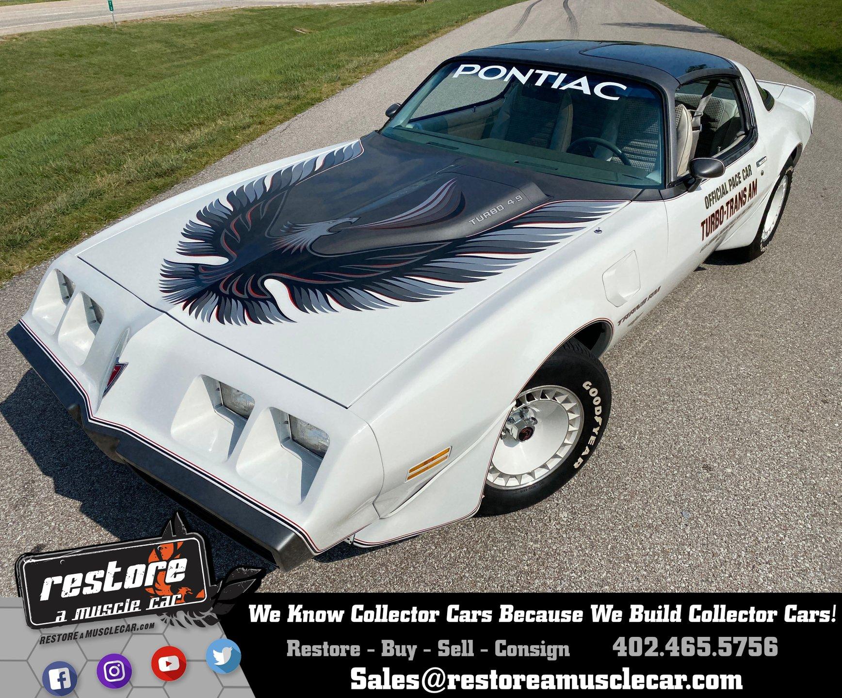 1980 pontiac trans am indy pace car