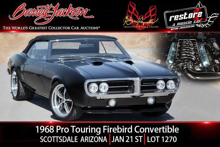 1968 pontiac pro touring firebird conv