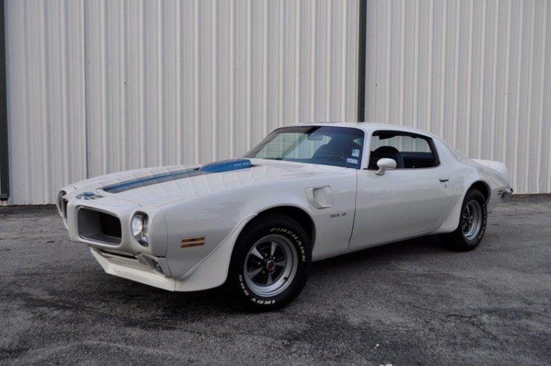 1972 Pontiac TransAm