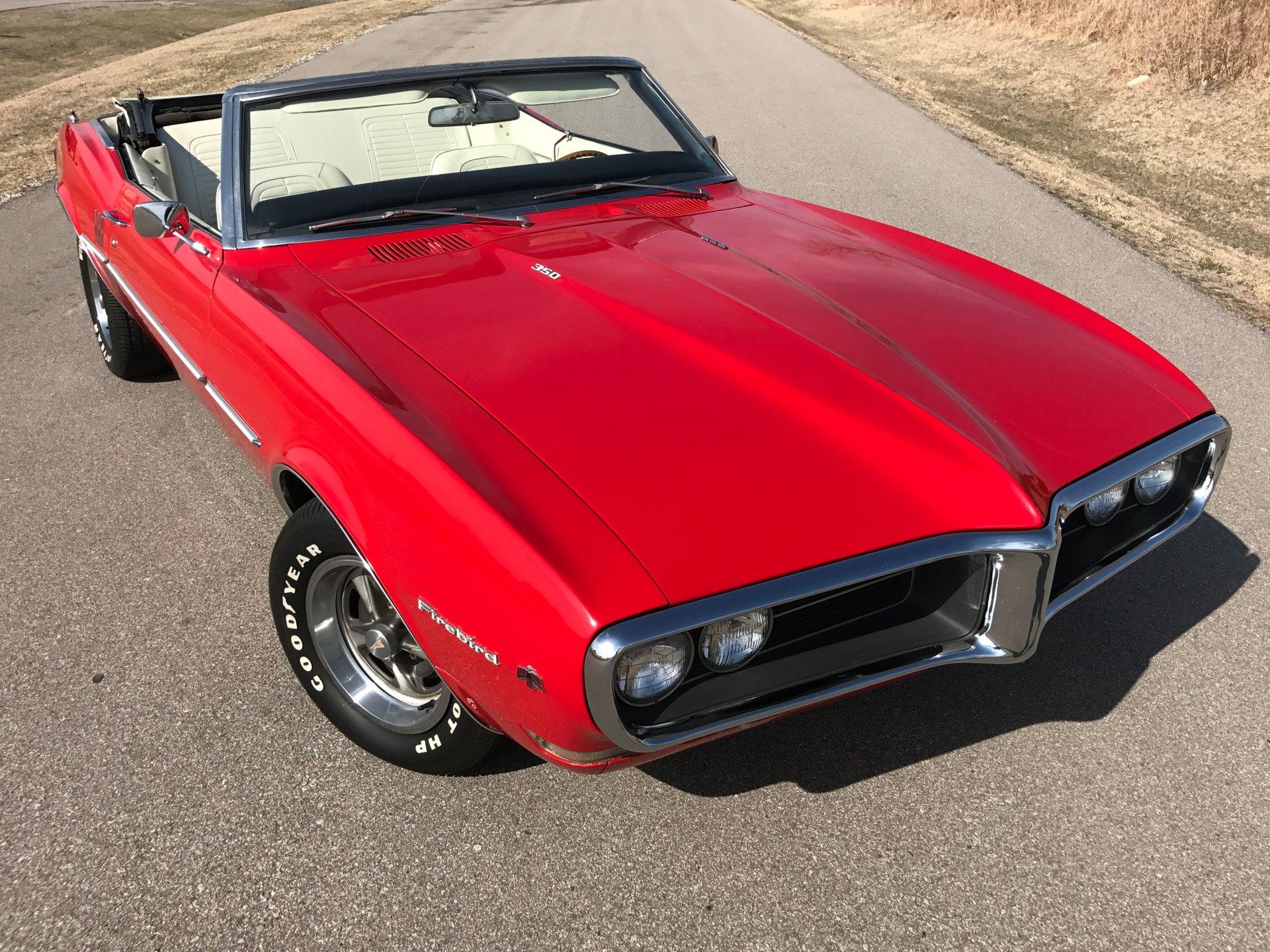 1968 pontiac firebird conv