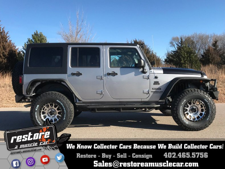 2017 Jeep Wrangler Restore A Muscle Car Llc