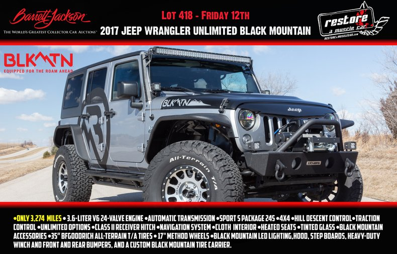 2017 Jeep Wrangler For Sale