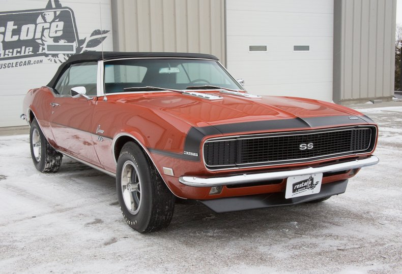 1968 Chevrolet Camaro | Restore A Muscle Car™ LLC