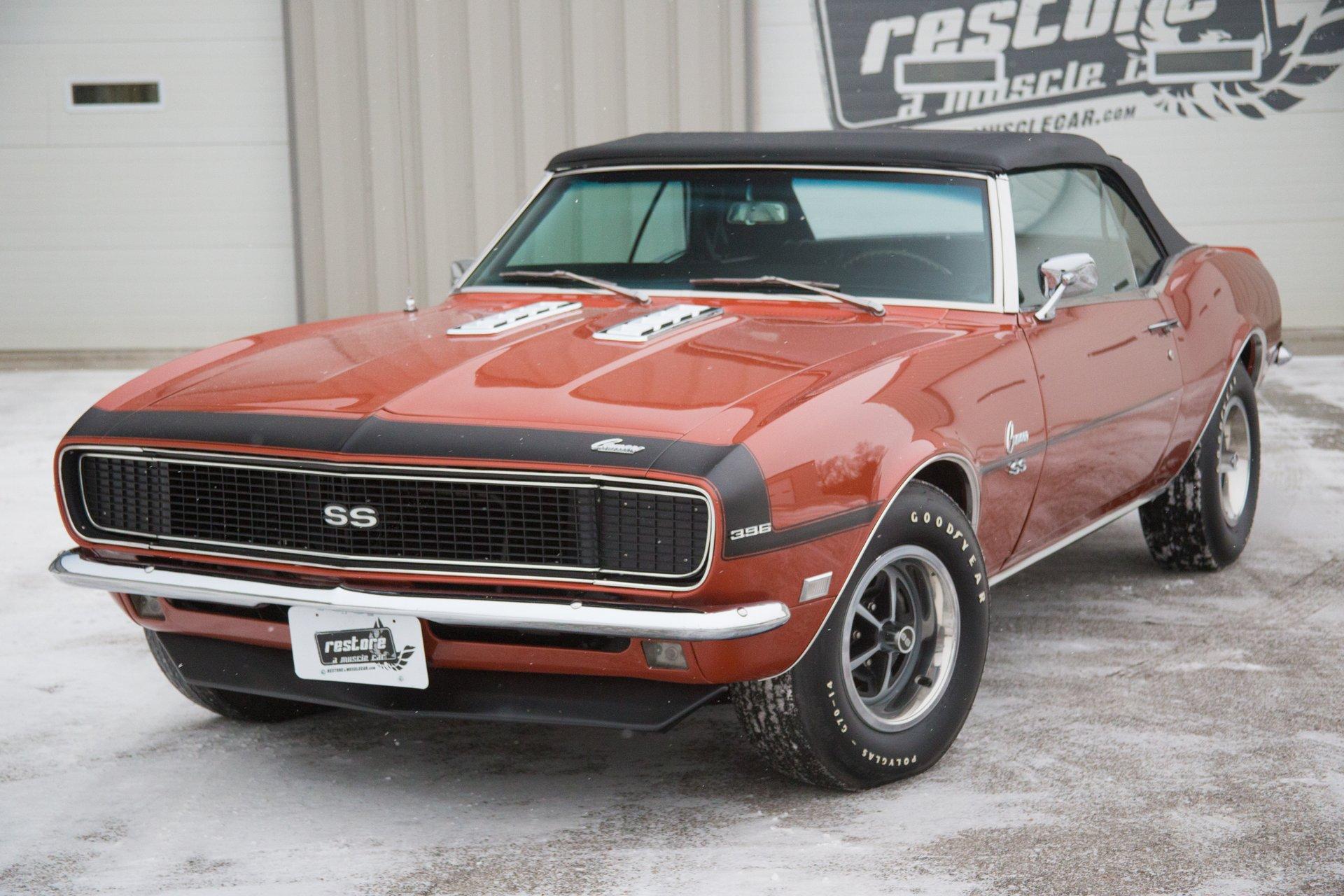 1968 Chevrolet Camaro   Restore A Muscle Car™ LLC