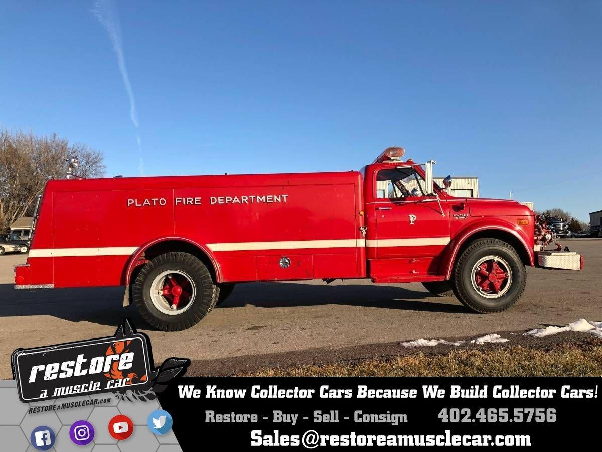 1972 chevrolet c50 fire truck