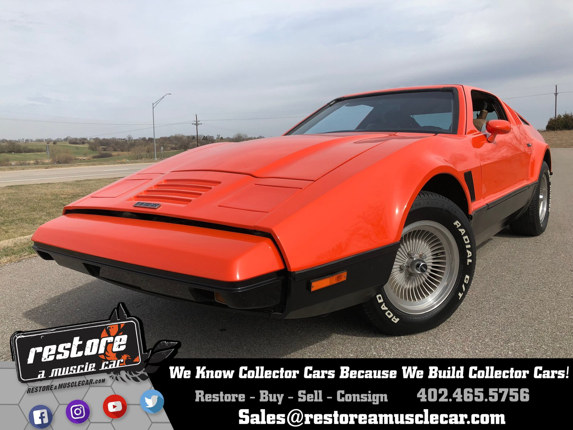 1975 ford bricklin sv 1