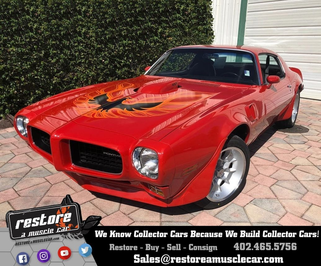 1973 Pontiac Trans Am Restore A Muscle Car Llc Firebird