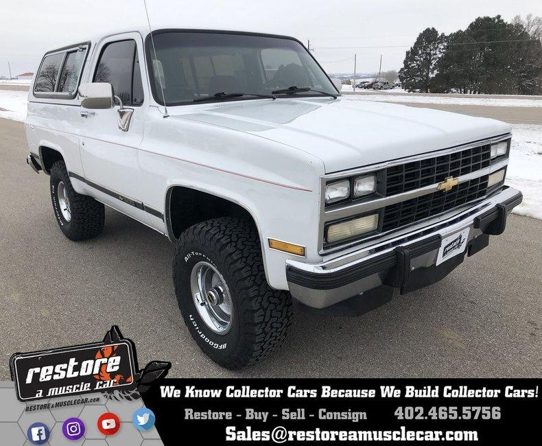 1991 Chevrolet Blazer Restore A Muscle Car Llc