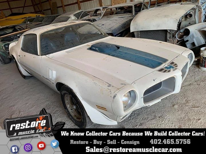 1971 Pontiac Trans Am SE