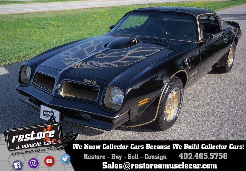 1976 Pontiac Trans Am SE