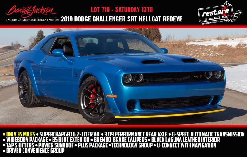 2019 Dodge Challenger Hellcat Redeye | Restore A Muscle Car™ LLC