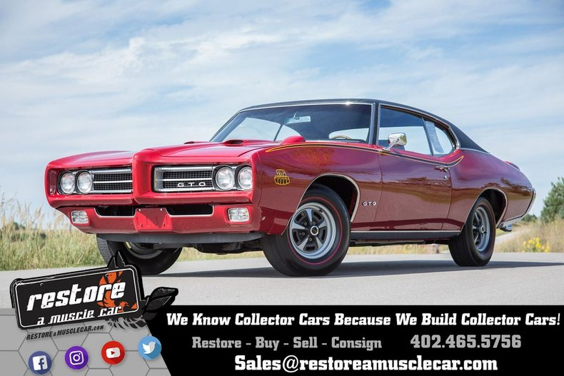 1969 Pontiac GTO Judge RA IV | Restore A Muscle Car™ LLC