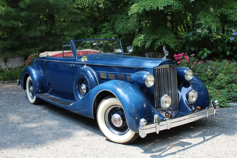1935 Packard Super-Eight Coupe Roadster