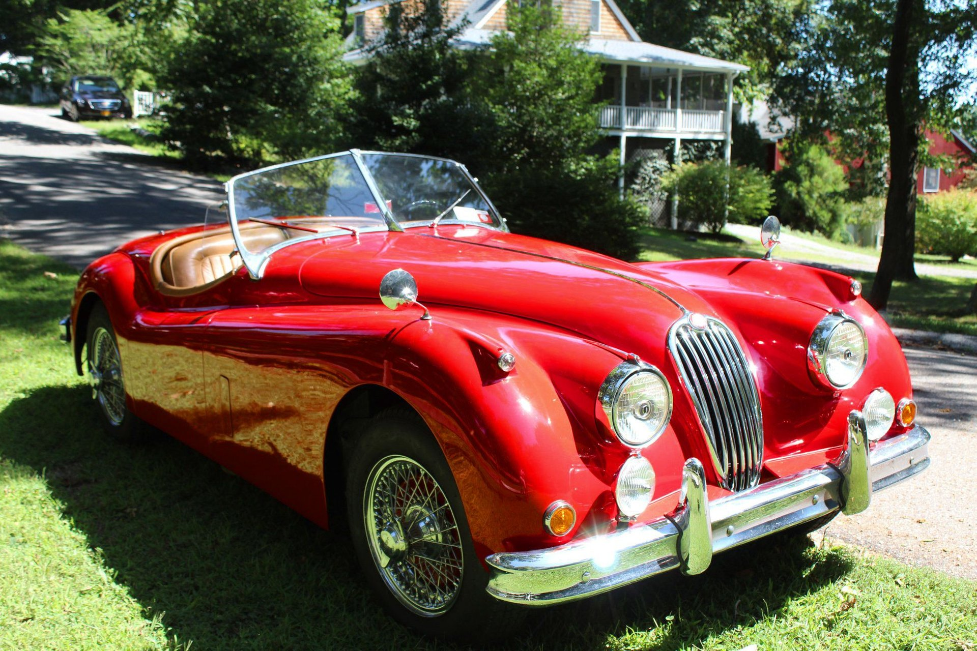 1956 jaguar xk 140 mc