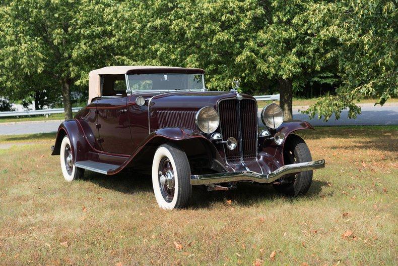 1931 Auburn 8-98A CONVERTIBLE COUPE