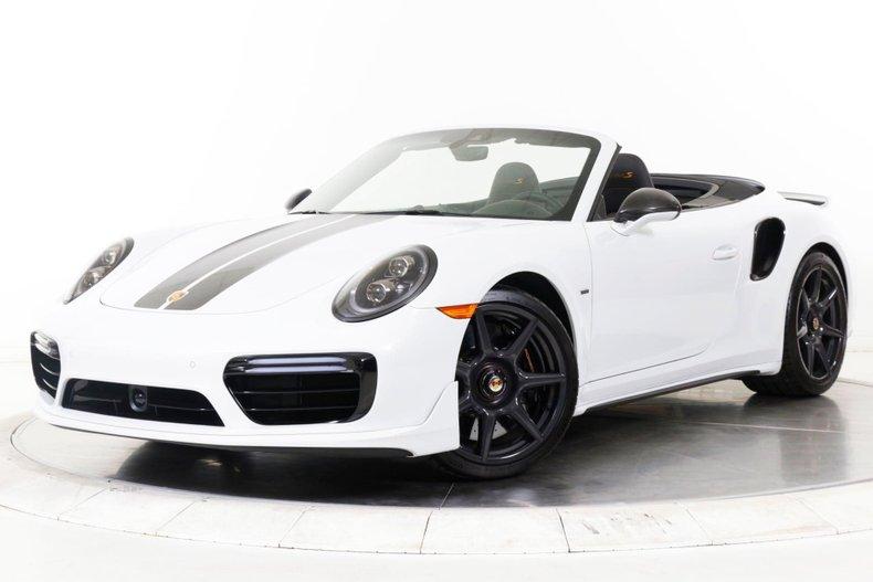 2019 Porsche 911 Turbo S Cabriolet Exclusive Series