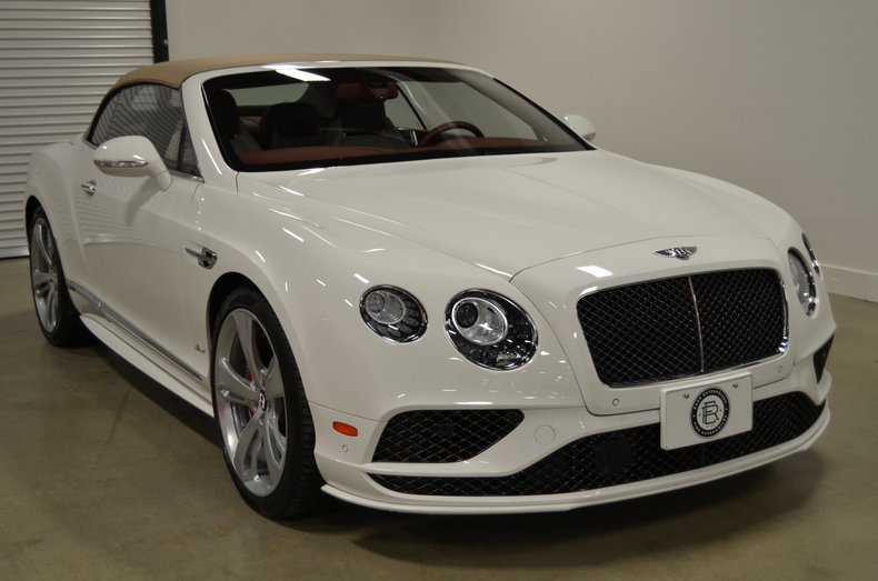 2016 Bentley Continental GT Conv. Speed