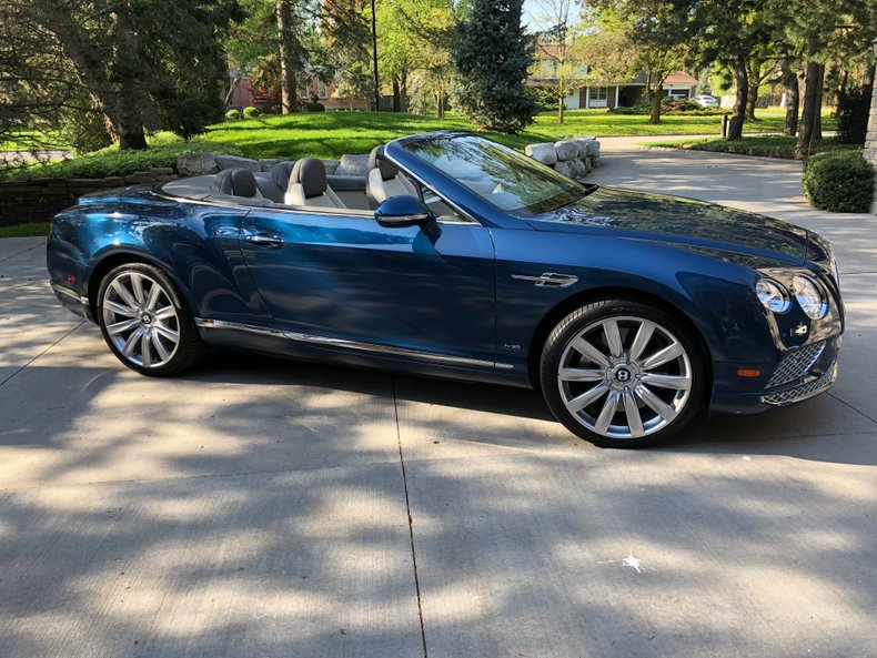 2018 Bentley Continental GT Conv.
