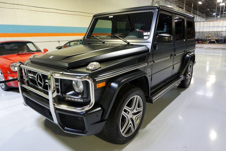 2017 Mercedes-Benz G Wagon