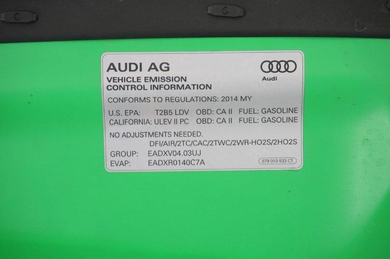 2014 Audi RS