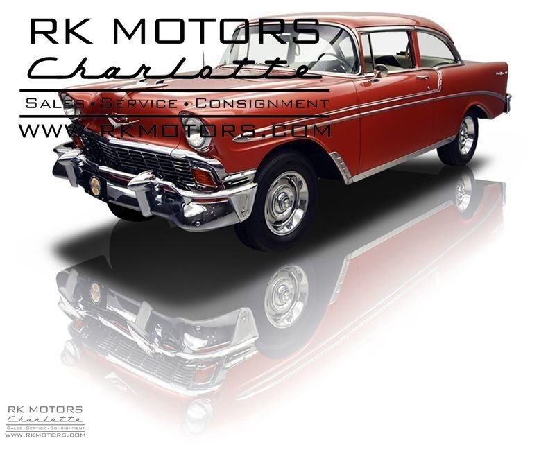 132139 1956 Chevrolet Bel Air RK Motors Classic Cars for Sale