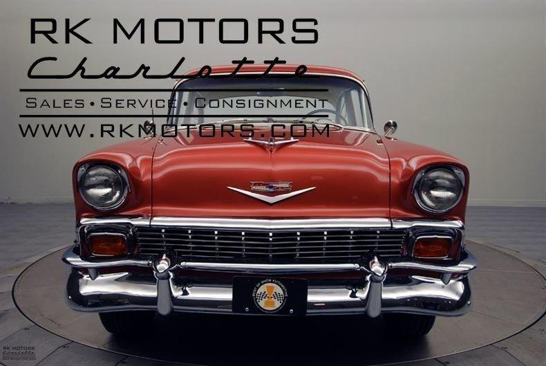 132139 1956 Chevrolet Bel Air RK Motors Classic Cars for Sale
