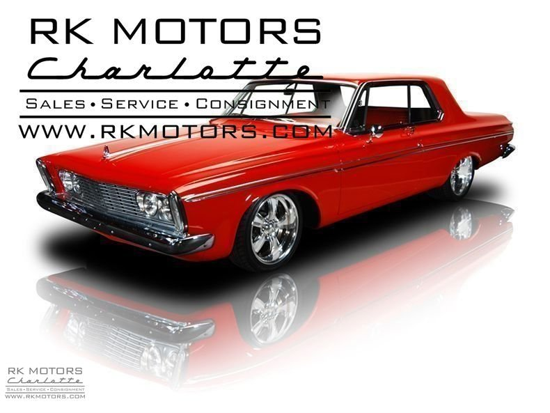 132110 1963 Plymouth Fury RK Motors Classic Cars For Sale