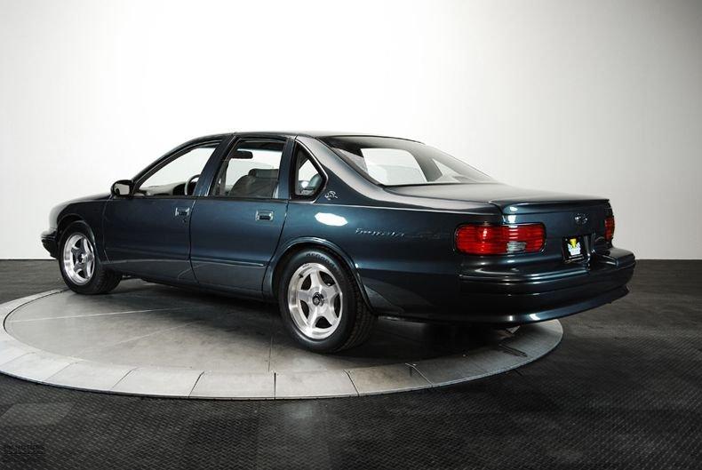 132129 1996 Chevrolet Impala RK Motors Classic Cars for Sale