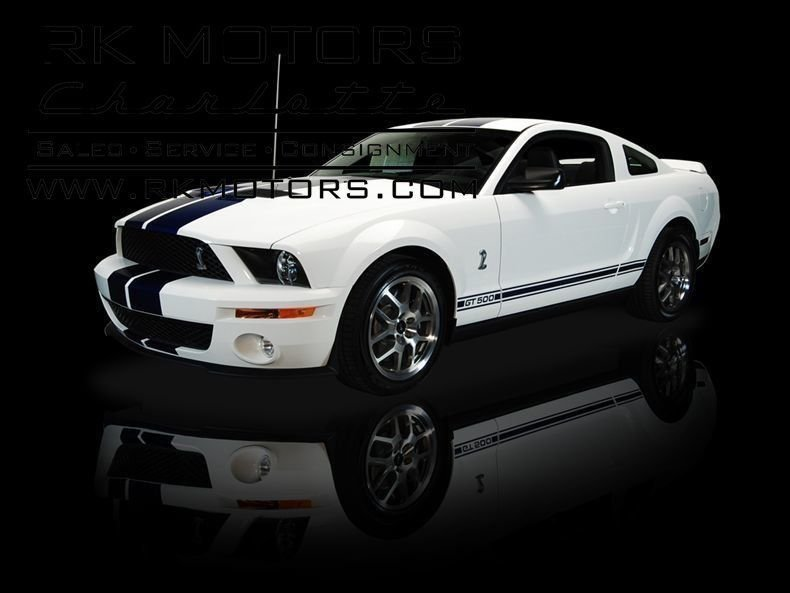 2008 ford mustang gt500