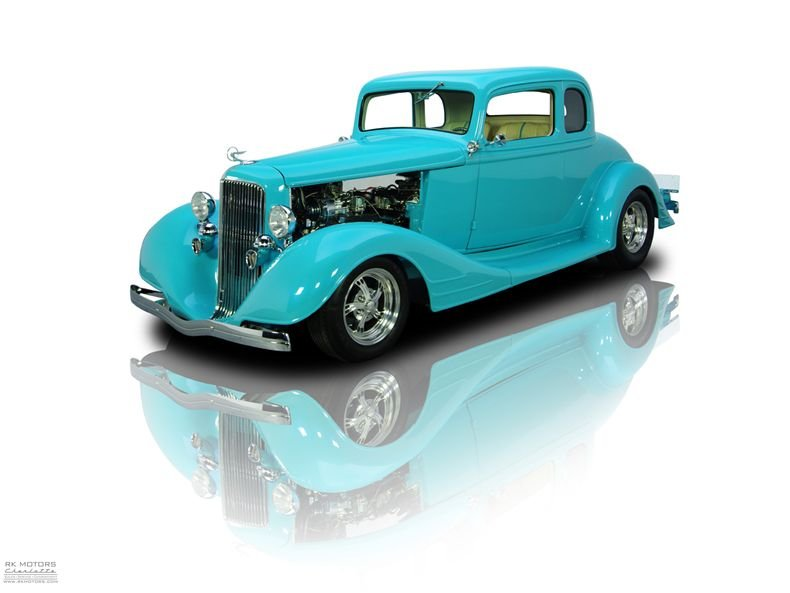 For Sale 1934 Pontiac 5-Window