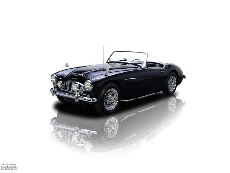 1960 austin healey 3000 mark i bn7